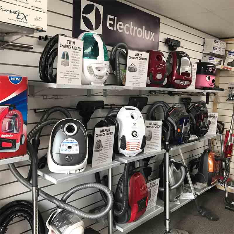 Doctor Vacuum Showroom New Vacuum Cleaners