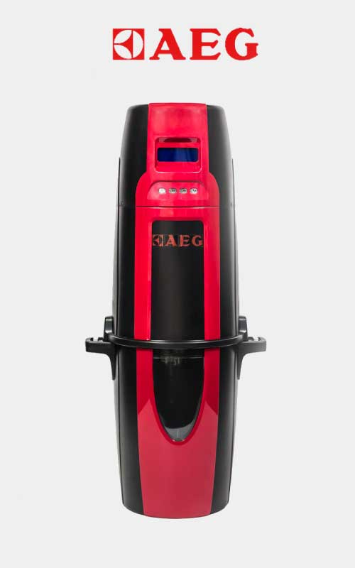 Red AEG Ducted Vacuum System