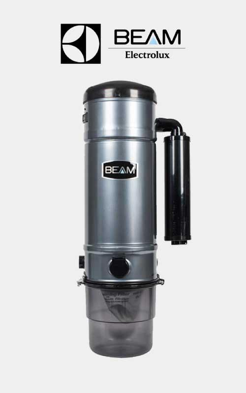 Beam ducted vacuum system