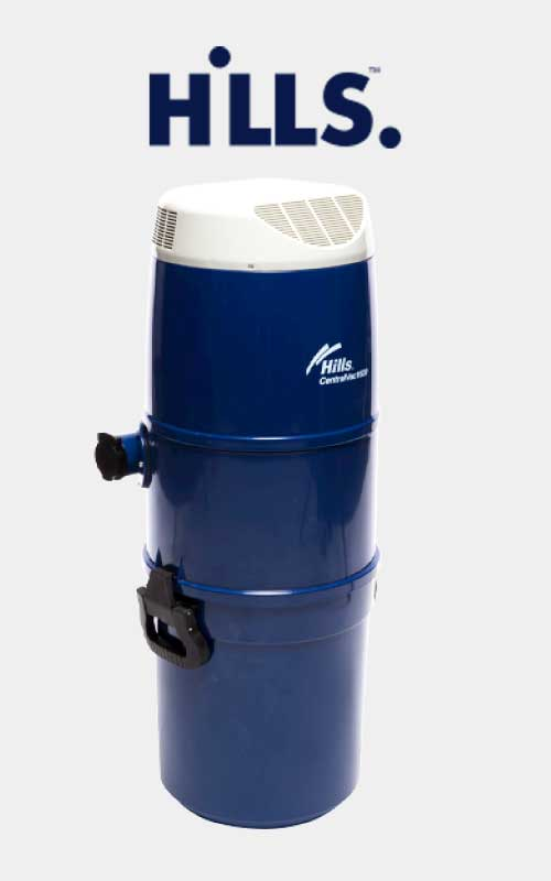 Blue Hills 1600 ducted vacuum system