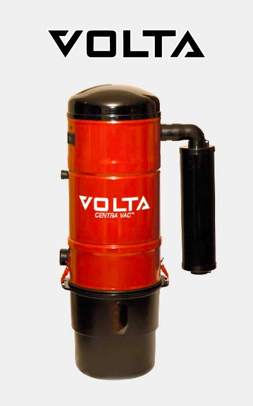 Red Volta Centra Vac Ducted Vacuum