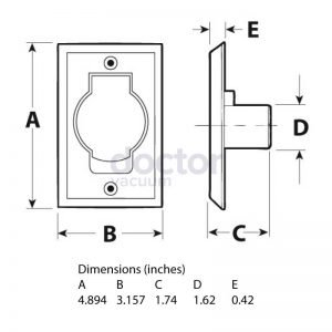 Wall-Inlet-Almond-Round-Door-Valve-Spec-Sheet-Doctor-Vacuum