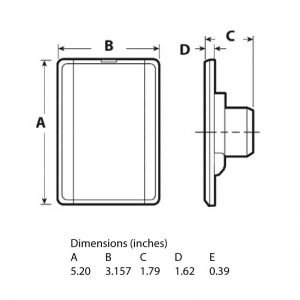 Wall-inlet-vacuvalve-dimensions