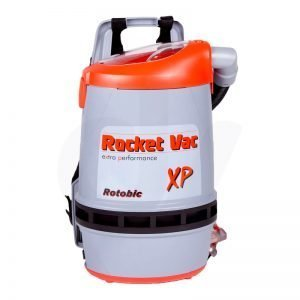 Front image of the Hako Rocket Vac Xp Backpack Vacuum Cleaner with HEPA Filter