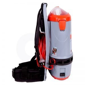 Side image of the Hako Rocket Vac Xp Backpack Vacuum Cleaner with HEPA Filter