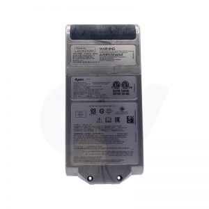 bottom text Dyson v11 battery