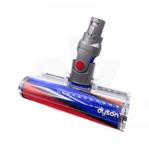 Soft power head for dyson v6 vacuum red and blue