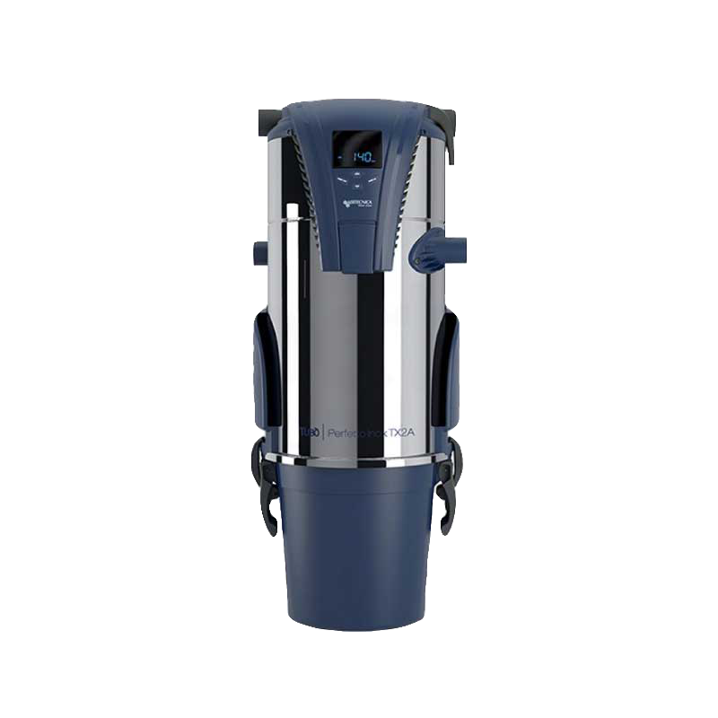 aertecnica ducted vacuum system blue