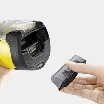 karcher wv5 battery change