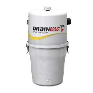 ducted vacuum system drainvac sadie17p